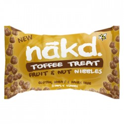 Nakd Nibbles - Toffee Treat Nibbles 18 x 40g
