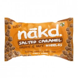 Nakd Nibbles - Salted Caramel Nibbles 18 x 40g