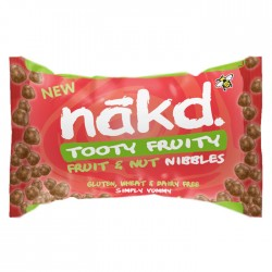 Nakd Nibbles - Tooty Fruity Nibbles 18 x 40g