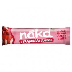 Nakd Strawberry Sundae Gluten Free Bars 18 x 35g