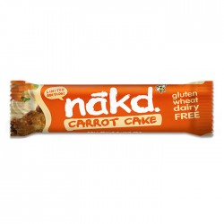 Nakd Carrot Cake Gluten Free Bar 18 x 30g