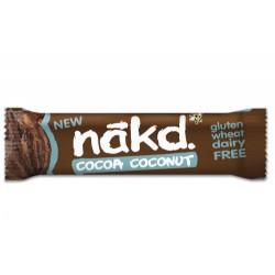 Nakd Cocoa Coconut Gluten Free Bars 18 x 35g