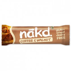 Nakd - Coffee & Walnut Gluten Free Bars 18 x 35g