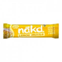 Nakd Lemon Drizzle Gluten Free Bars 18 x 35g