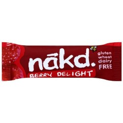 Nakd Berry Delight Gluten Free Bar 18 x 35g