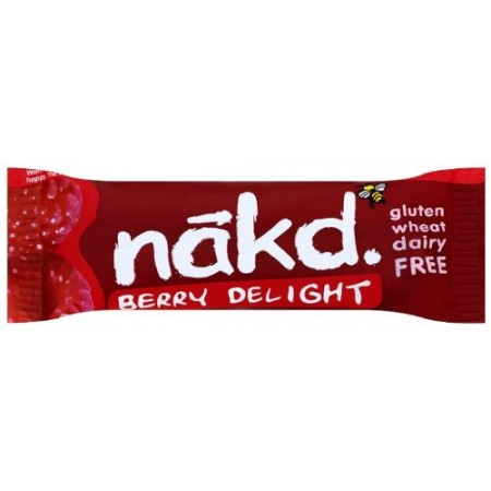 Nakd Berry Delight Gluten Free Bar 18 x 35g