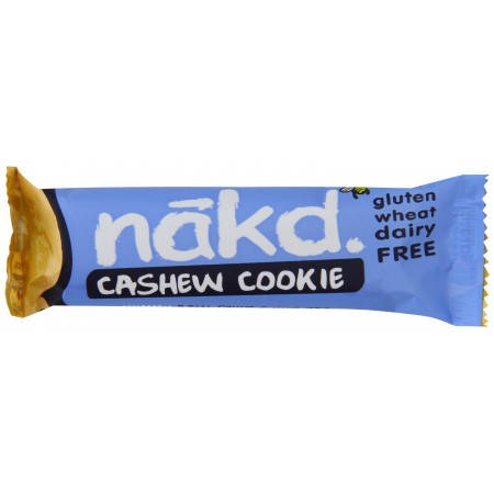 Nakd Cashew Cookie Gluten Free Bar 18 x 35g