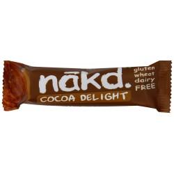 Nakd Cocoa Delight Gluten Free Bar 18 x 35g