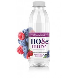 No & More - Raspberry & Blueberry - 6 x 500ml