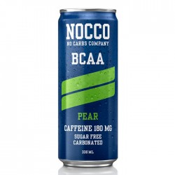 Nocco BCAA Pear Drink | 24 x 330ml