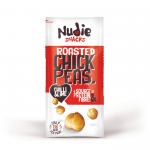 Nudie Snacks - Roasted Chickpeas - Chilly & Lime (24 x 30g)