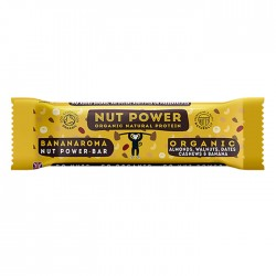Nut Power  | Organic Natural Protein Bar Bananorama - 18 x 38g