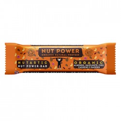 Nut Power  | Organic Natural Protein Bar Nutastic Flavour - 18 x 38g