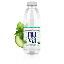 NUVA - Cucumber & Garden Mint - 6 x 500ml