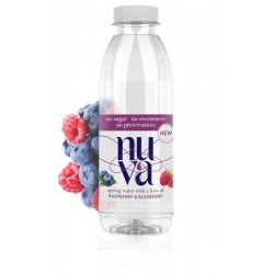 NUVA - Raspberry & Blueberry - 6 x 500ml