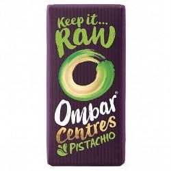 Ombar Raw Organic Chocolate - Centres Pistachio  10 x 35g