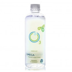 OmegaWater - Pineapple & Coconut Omega 3 Water - 12 x 474ml