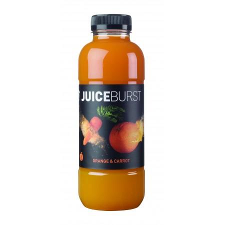 Juice Burst Orange & Carrot 12 x 500ml
