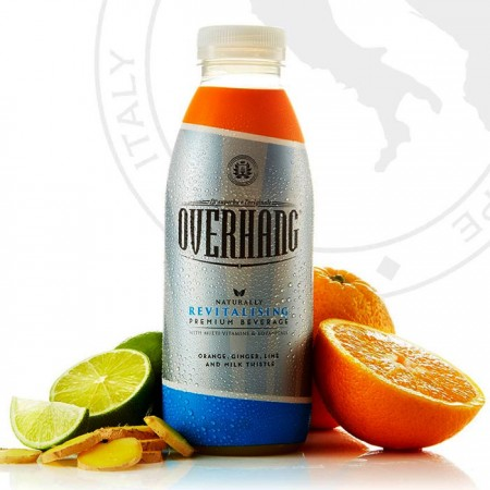 Overhang - Orange, Ginger, Lime & Milk Thistle 12 x 500ml £13.89