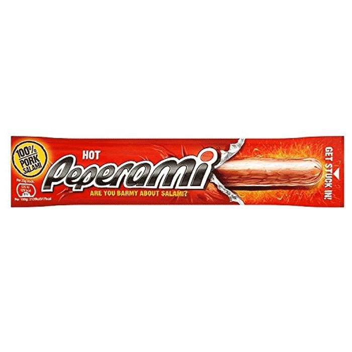 Peperami Hot 24 X 22 5g Uk Peperami Suppliers