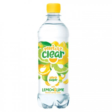 Perfectly Clear Lemon & Lime Flavoured Water 12 x500ml