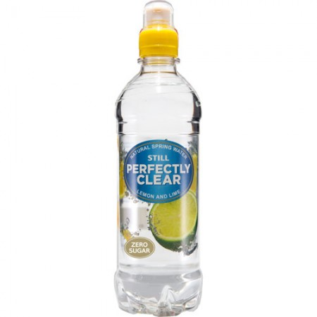 Perfectly Clear Lemon Amp Lime Flavoured Water 12 X500ml