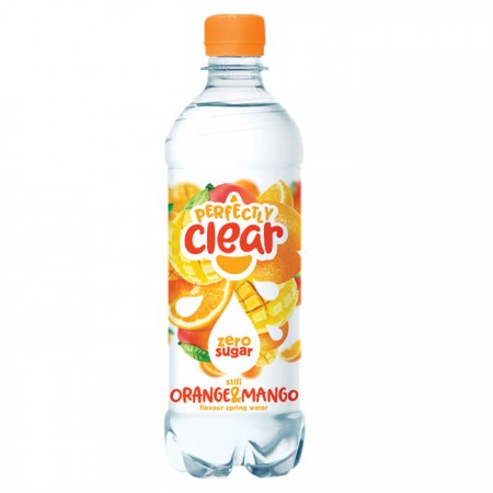 Perfectly Clear Orange & Mango Flavoured Water 12 x 500ml