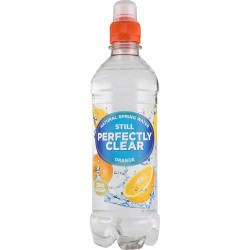 Perfectly Clear Orange Flavoured Water 12 x500ml