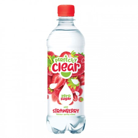 Perfectly Clear Strawberry Flavoured Water 12 x 500ml