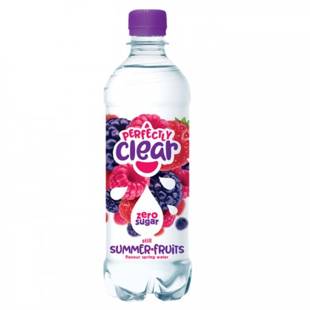 Perfectly Clear Summer Fruits Flavoured Water 12 x 500ml