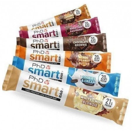 PhD Protein Bars Deal - Any 4 for £50.00