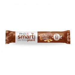 PhD Smart Plant (Vegan) Protein Bar - Choc Peanut Caramel (12 x 64g)