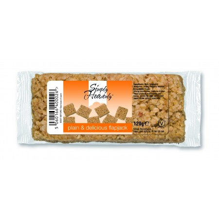 Simply Heavenly Flapjack Plain & Delicious 15 x 120g