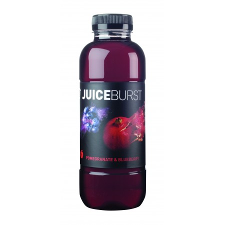 Juice Burst Pomegranate and Blueberry 12 x 500ml