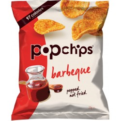 Popchips Barbeque Popped Potato Chips 24 x 23g