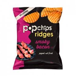 Popchips Ridges Smokey Bacon - Small Bags
