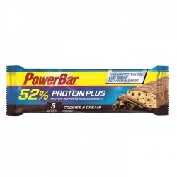 PowerBar 52% High Protein Cookies & Cream Flavour - 25 x 50g