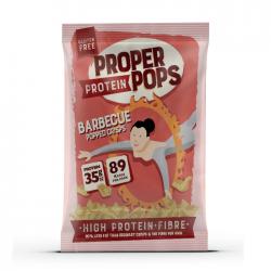 Proper Protein Pops - BBQ Popped Crisps - 12 x 25g