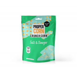 Propercorn Crunch Corn Share Bags - Salt & Vinegar 7 x 90g