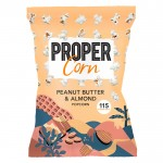 Propercorn Smooth Peanut & Almond Popcorn 8 x 80g