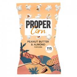Propercorn Smooth Peanut & Almond Popcorn 24 x 20g