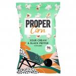 Propercorn Sour Cream & Black Pepper Popcorn 24 x 20g