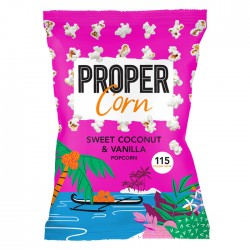 Propercorn Sweet Coconut & Vanilla Popcorn 8 x 80g