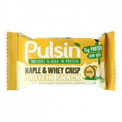 Pulsin Maple & Whey Crisp 18 x 50g