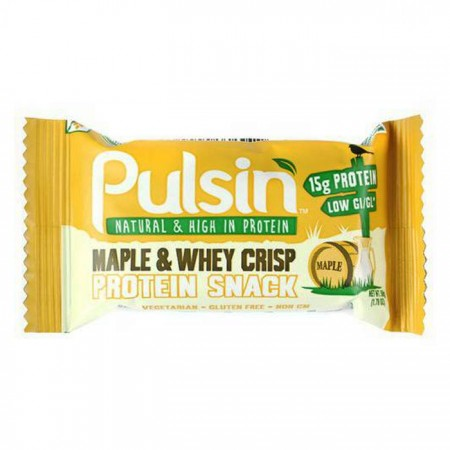 Pulsin Maple & Whey Crisp 18 x 50g