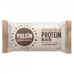 Pulsin - Peanut Choc Protein Bar 18 x 50g