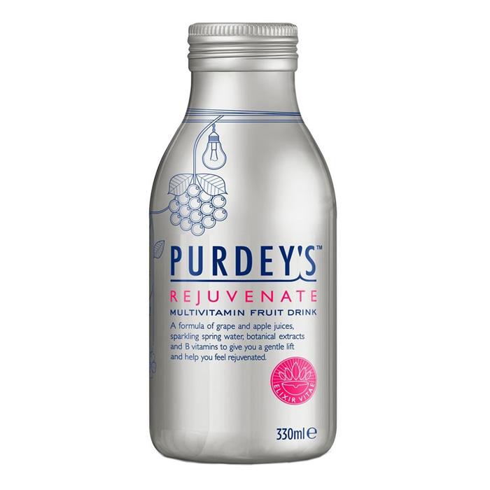 Purdey S Rejuvenate Multivitamin Fruit Drink 12 X 330ml
