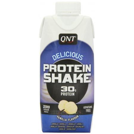 QNT Delicious Vanilla 30g Protein Shake 12 x 330ml