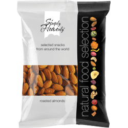 Simply Heavenly Raw Almonds 12 x 70g