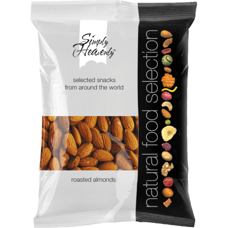 Simply Heavenly Nuts Raw Almonds 12 x 50g